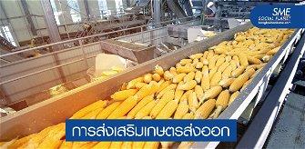 ดัน SMEs ภาคการเกษตรไทยสู่ครัวโลกหลังโควิด-19