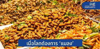 'เทรนด์แมลง' อาหารใหม่ที่เป็นมากกว่าความยั่งยืน
